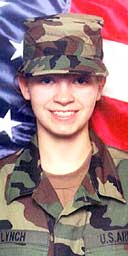 US Private Jessica Lynch, 19, rescued after being held by Iraq as prisoner of war