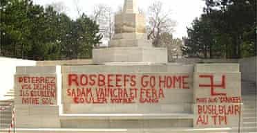 British war memorial near Boulogne