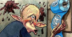 04.04.03: Steve Bell on Bush's plan for a role for the UN