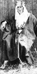 Lawrence of Arabia in an undated portrait