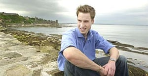 Prince William in St Andrews