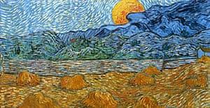 Moonrise by Vincent van Gogh