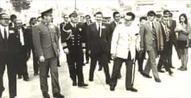 General Augusto Pinochet and President Salvador Allende on a trip in northern Chile in the months before the 1973 coup that left Allende dead and Pinochet in command of the government