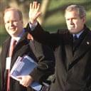 Karl Rove and George Bush