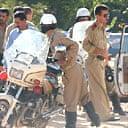Syrian policemen