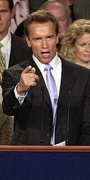 Arnold Schwarzenegger S Victory Speech Us News The Guardian