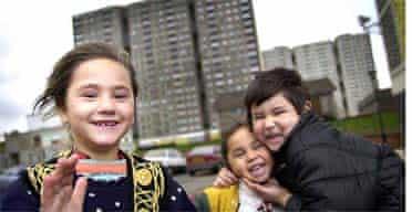Romanian refugee children in Glasgow