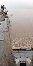 Three Gorges Dam at Sandouping