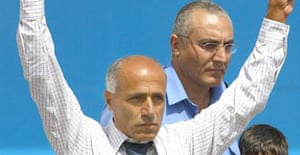 Mordechai Vanunu on his release