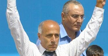 Mordechai Vanunu on his release