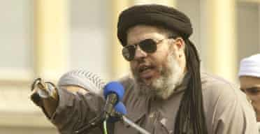 Radical Muslim cleric Abu Hamza