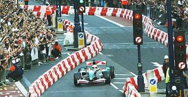 Jaguar F1 in London