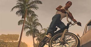 An image from Grand Theft Auto