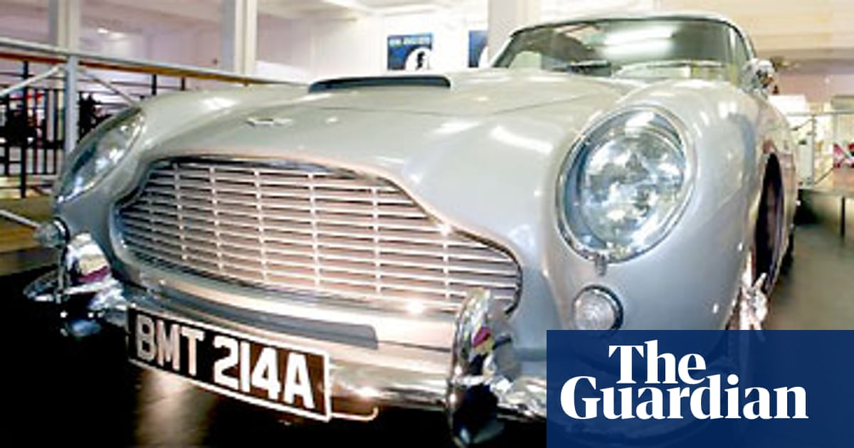Ford Sells Aston Martin Business The Guardian
