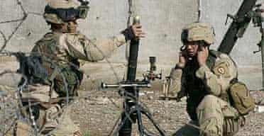US troops fire shells in Mosul