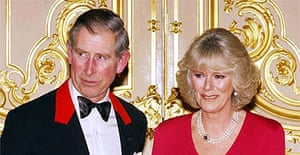 Prince Charles and his fiance Camilla Parker Bowles