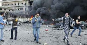 Explosion in Beirut 14 February 2005