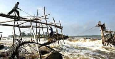 Fishermen on the Congo at Kisangani