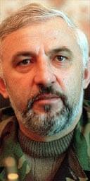 Chechen leader Aslan Maskhadov