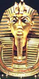King Tutankhamun's death mask
