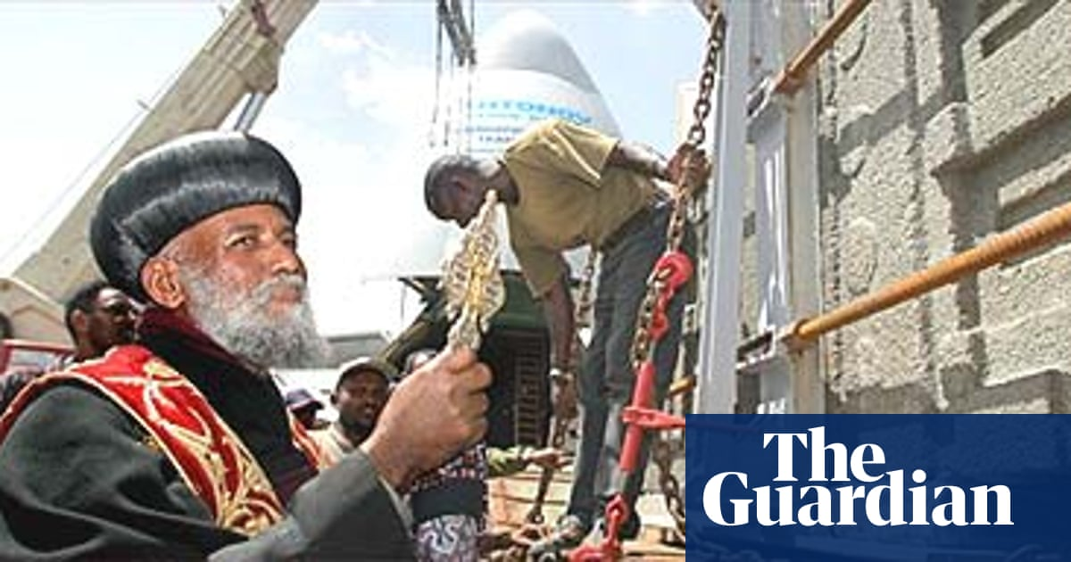 Obelisk returned to Ethiopia after 68 years | World news | The Guardian