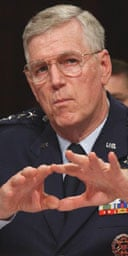 General Richard Myers, the US chairman of the joint chiefs of staff. Photograph: AP