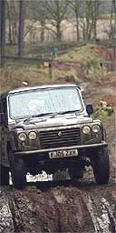 A 4x4 getting muddy the traditional way