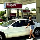 Exxon station in California