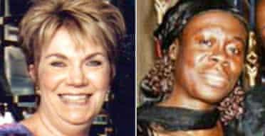 Gladys Wundowa and Susan Levy