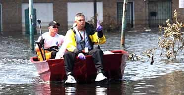 Rescuers continue to search for survivors in New Orleans.