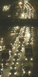 Thousands of vehicles make their way out of Houston, Texas as Hurricane Rita approaches. Photograph: Rick Wilking/Reuters