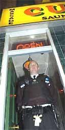 Police raid Cuddles massage and sauna parlour in Birmingham.