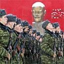 Belarusian soldiers in Minsk
