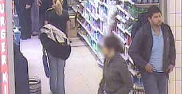 CCTV image of Hasib Hussain at King's Cross at 0900 on July 7, 47 minutes before blowing up the Number 30 bus