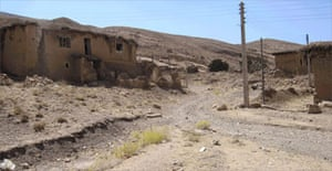 A disused factory in Khollar, Iran, that once made wine and fruit juice for local consumption. Photograph: Robert Tait