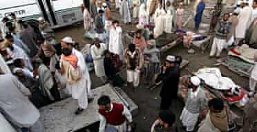 Refugee camp, Mansehra, Pakistan