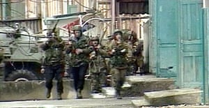 Russian troops make house searches in Nalchik