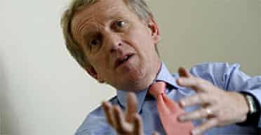 Sir Christopher Meyer, former British Ambassador to the USA. Photograph: Dan Chung/Guardian