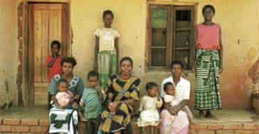 Christmas Charity Appeal 2005: Grace Mathanga and family