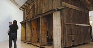 Shedboatshed, an installation by Simon Starling, who has won the Turner prize 2005