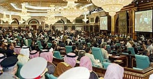 The opening session of the Third Extraordinary Session of the Islamic Summit Conference