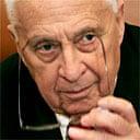 Ariel Sharon in Jerusalem shortly before he was taken ill