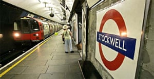 Stockwell tube station in south London, where police shot dead Brazilian Jean Charles de Menezes