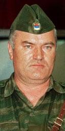 A 1992 photograph of the Bosnian Serb general Ratko Mladic. Photograph: Srdjan Ilic/AP