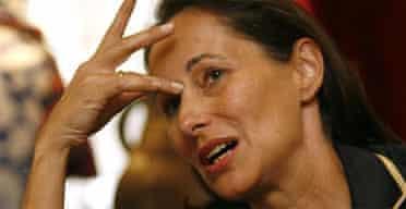 Ségolène Royal. Photograph: Martin Bernetti/AFP