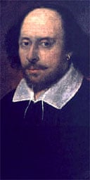 Chandos portrait, 1600-10