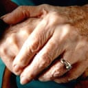 A pensioner's hands. Photograph: Jeffrey Coolidge/Getty Images