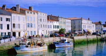 Harbour at St-Martin-de Ré, Île de R