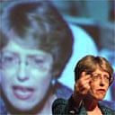 Patricia Hewitt addresses a Unison conference in Gateshead. Photograph: Owen Humphreys/PA
