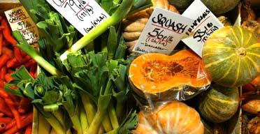Organic vegetables. Photograph: Don McPhee